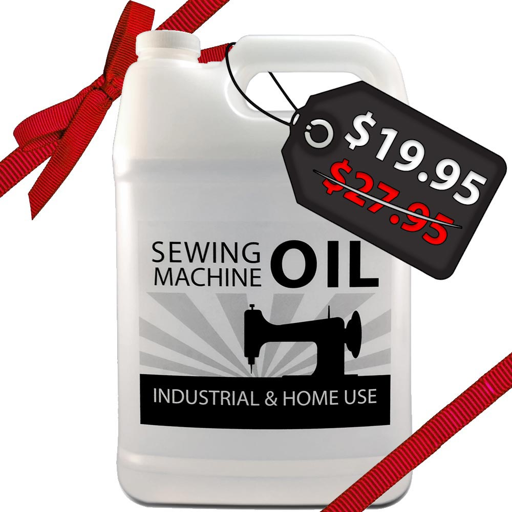 1 Gallon Sewing Machine Oil for Juki, Singer, Brother, Consew [RECOMMENDED]  | cutsew com