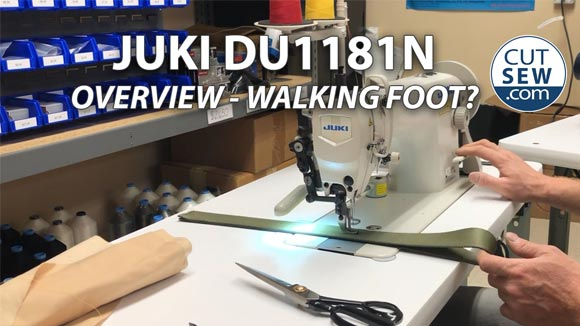 The Juki 1181N - Is It a Walking Foot Machine?