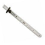 6 inch stainless steel ruler - 311-ME