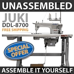 Juki DDL8700 - ASSEMBLY REQUIRED - FREE SHIPPING $747.00