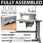 Juki DDL 8700 Single Needle Lockstitch - FULLY ASSEMBLED